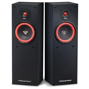 Review and test Floor standing speakers Cerwin-Vega SL-8