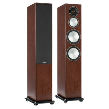 Review and test Floor standing speakers Monitor Audio Silver 8