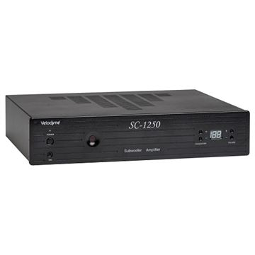 Review and test Velodyne SC-1250 Subwoofer Amplifier